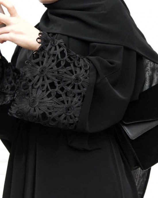 Black Angel Abaya