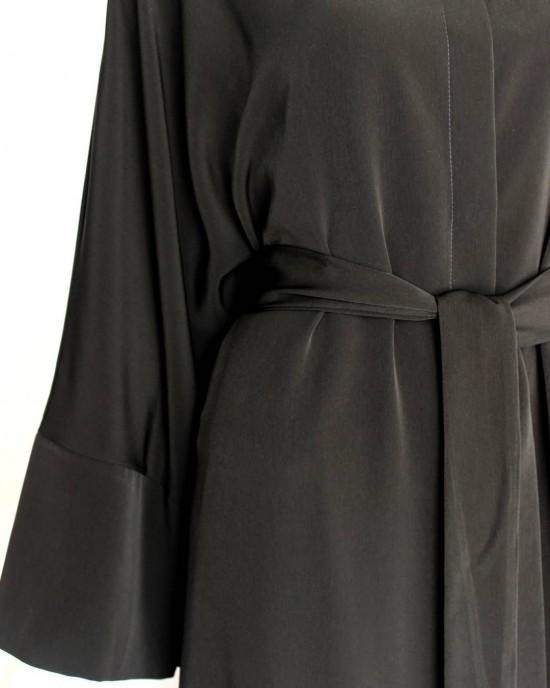 Black Basic Abaya