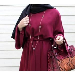Sour Cherry Basic Dress