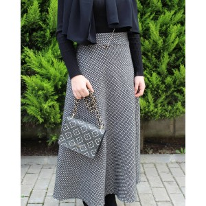 Woll Half Flared Skirt