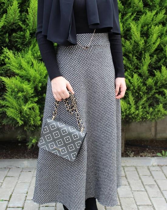 Woll Half Flared Skirt