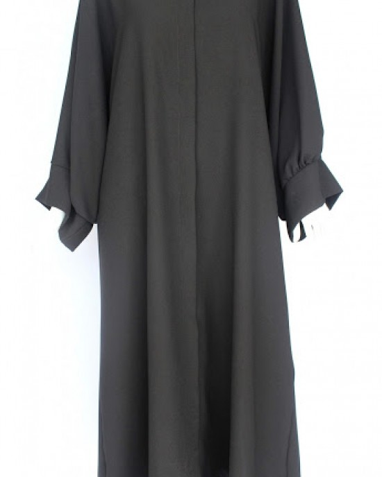 Black Pelican Arm Abaya