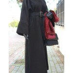 Siyah Kaşmir Abaya