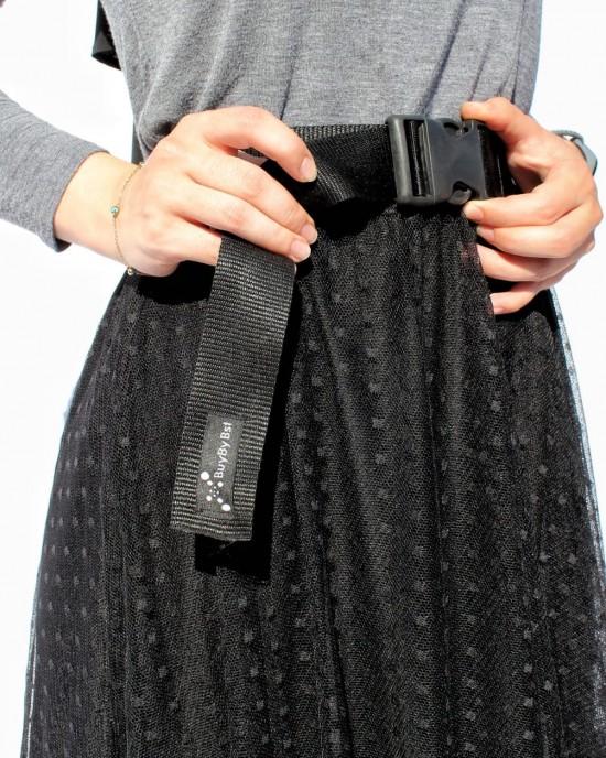 Black Cartridge Belt