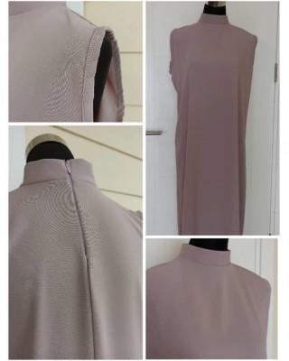 Beiege Sleeveless High Neck Dress
