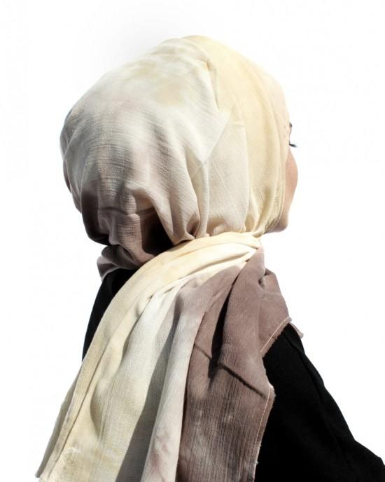 TieDie Linen Shawl