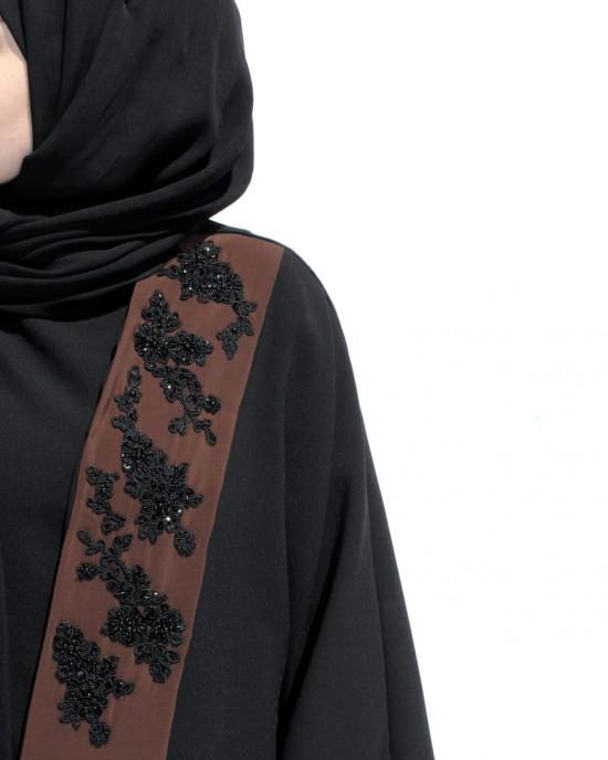 Robe Collar Abaya